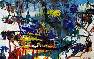 苏富比当代艺术晚拍呈献劳森伯格封塔纳佳作