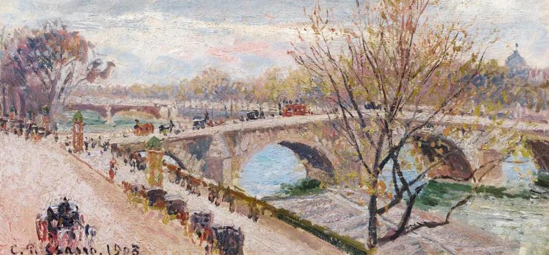 毕沙罗巴黎系列上拍巴黎苏富比