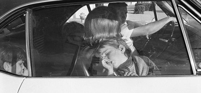 20世纪70年代汽车中的加州居民