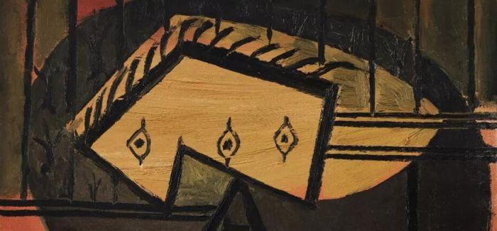 毕加索晚年力作:《坐着抽烟斗的男子与爱神》