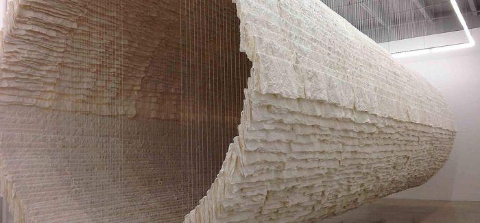 用14000张宣纸1800棵细竹释放本性