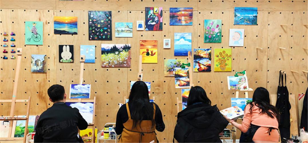 一笔一画|零基础水彩画体验 赠实木画框