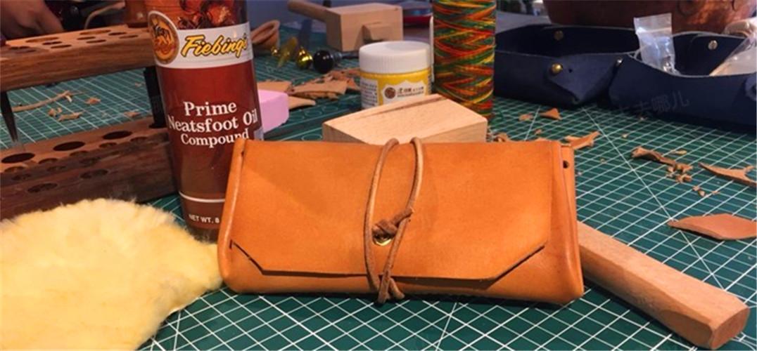 南部工坊丨手工皮具 简约收纳包
