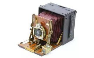 桑德森:移轴相机的前驱