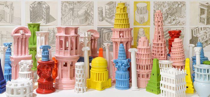 有趣的对话:陶瓷材质的微建筑