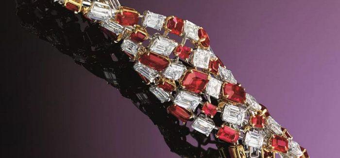 一对缅甸天然红宝石耳环的香港之旅