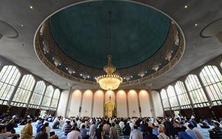 伦敦清真寺被列为英国二级建筑遗址