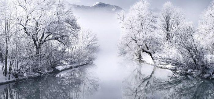 """冬日的最后一抹""""余辉"""""""