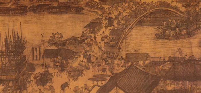 """《清明上河图》中的木结构""""汴水虹桥""""是如何搭建的"""