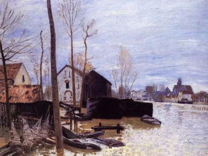 阿尔弗莱德·西斯莱:只画风景的印象派画家