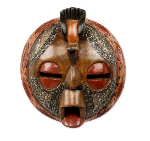 憋说话  吻我表情_给你一副非洲面具 自己想象_设计_生活方式_凤凰艺术