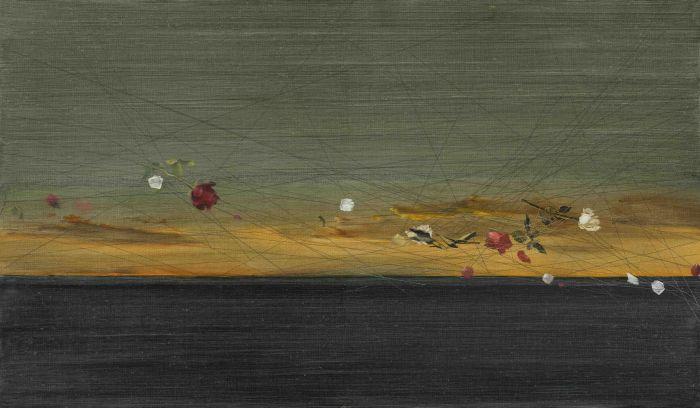 耿德法  相思染 NO.2  70x120cm  布面油画   2017年