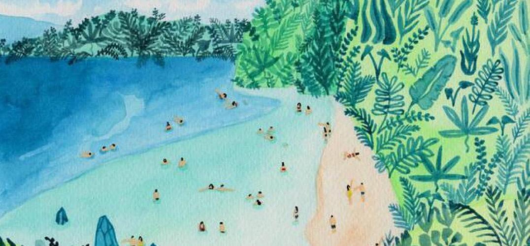 这些斑斓的图画 告诉你夏天应该这样打开