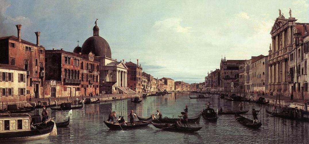 他为后人留下了18世纪威尼斯日常生活的快照