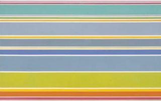 如何用色彩 线条与形状 恪守一生的语言实验?