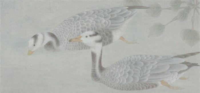 历时3个月完成 独家揭秘江宏伟新作—花鸟十二条屏