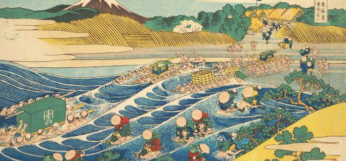 他用三十年的时间画了一波海浪