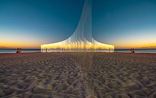 科特索海滩 无尽的桥