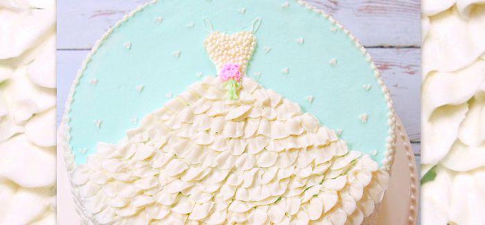 把蛋糕穿在身上
