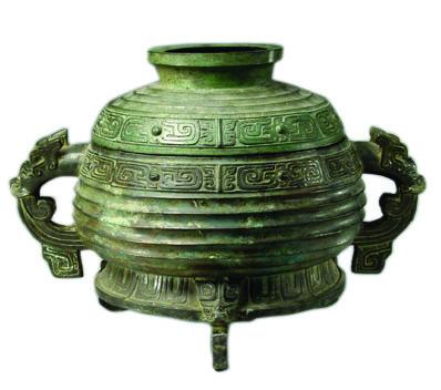 (图6-1)西周晚期颂簋,山东省博物馆藏