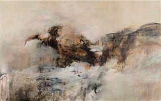 富艺斯拍卖行将在香港呈现尺幅最大的赵无极70年代作品
