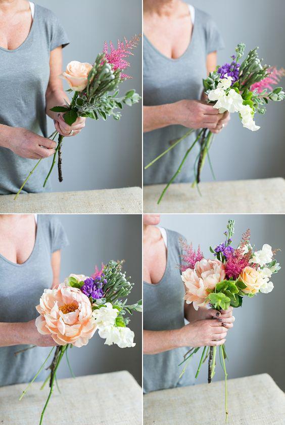 鲜花搭配 图片来源自DIYbunker