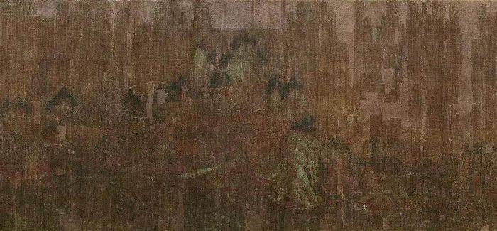 (传)唐王维《著色山水》将在北京匡时上拍