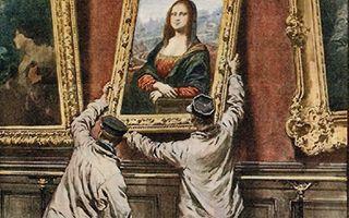 《蒙娜丽莎》为何如此出名?