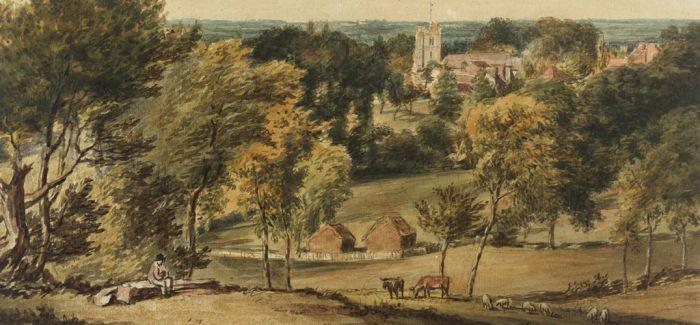 英国水彩风景画的黄金时代