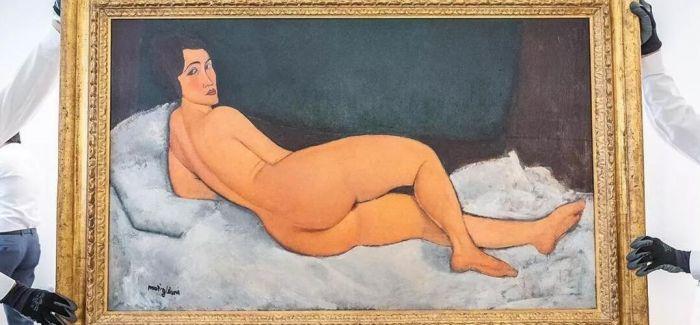 莫迪里阿尼《向左侧卧的裸女》成苏富比最高成交拍品