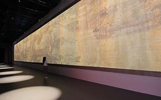 故宫凤凰《清明上河图3.0》  国际博物馆日故宫开幕