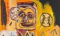 巴斯奎特的《无题(橙色运动人像)》