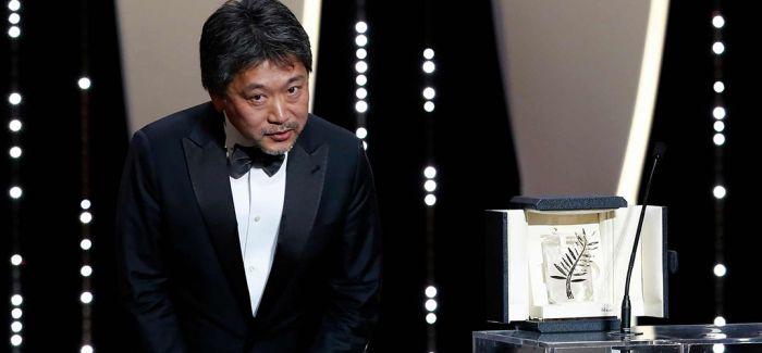 是枝裕和凭借《小偷家族》摘得最佳影片金棕榈大奖