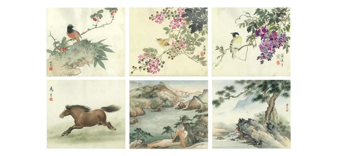 中国书画网上拍卖多件中国古代及近现当代书画