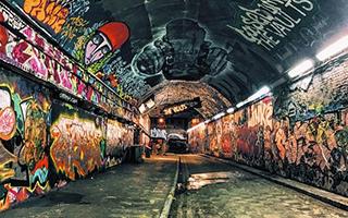 地铁 城市文化的写照