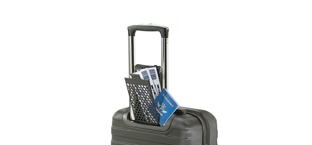 行李箱里的隐藏式文件夹