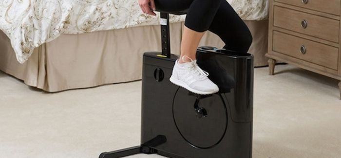 你的飞轮健身车可以塞进衣柜啦