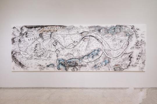 内众多中国当代艺术家的系列作品近日于毕尔巴鄂古根海姆美术馆呈现
