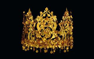 231件(套)阿富汗文物郑州博物馆展出