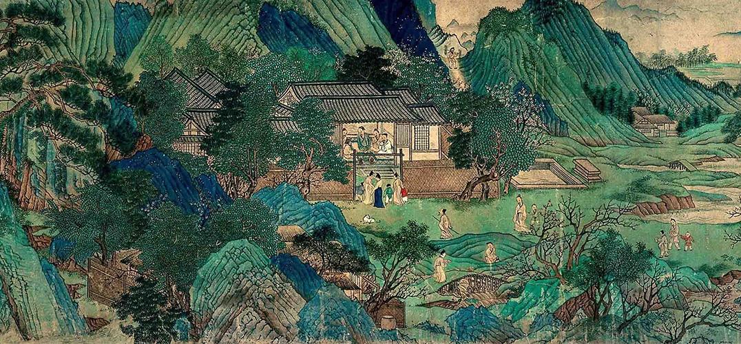 宋徽宗与青绿山水中的道教景观