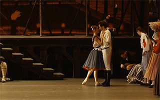 """芭蕾舞剧《巴黎的火焰》""""燃情""""国家大剧院"""
