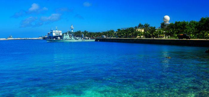 大量石质类文物及船板初现西沙群岛