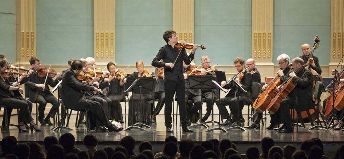 """小提琴家中的""""摇滚巨星"""""""