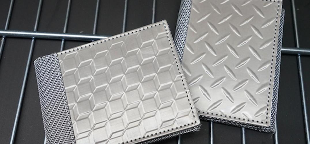 不锈钢材质竟然用在皮夹上