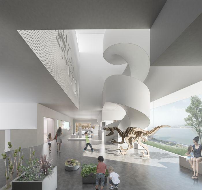 5中央美术学院山东艺术教育中心设计方案草图(2019年3月竣工) (1)