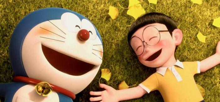 有哆啦A梦陪伴的童年