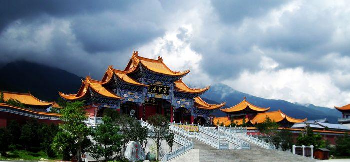 山雨中的寺庙!镜头之下的古建
