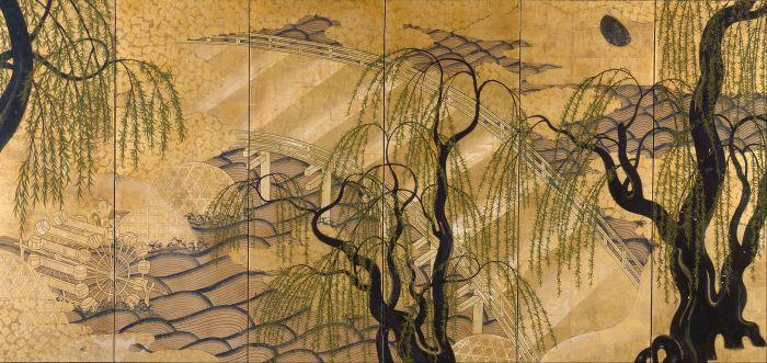 Six-Panel_Painted_Screen_(Uji_Bridge)_-_Google_Art_Project