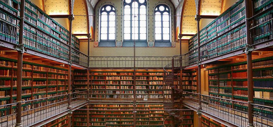 每间图书馆都是一座迷宫