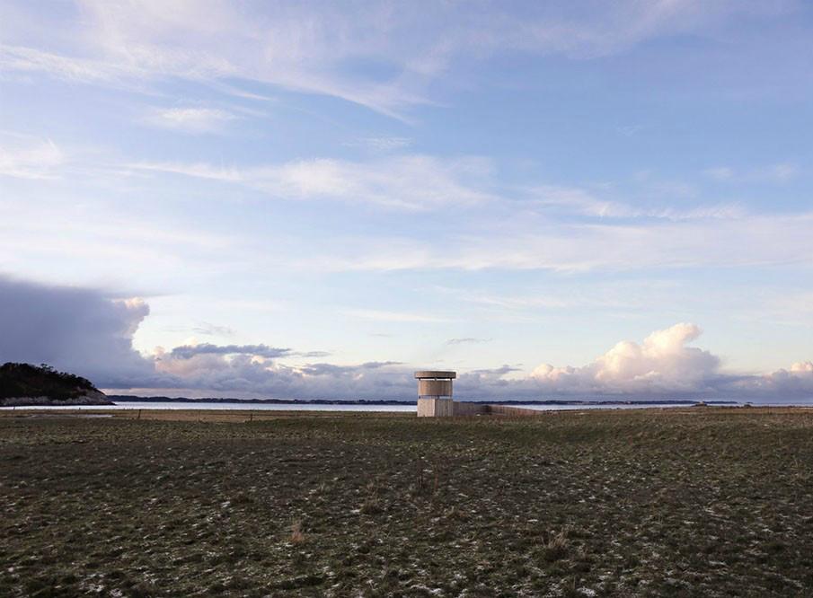 柔软的外表下,那是孤独坚强的灵魂丨挪威木制观鸟塔第9张图片